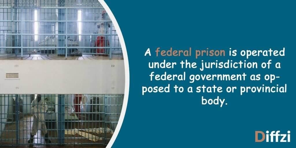 Federal Prison vs  State Prison – Difference and Comparison