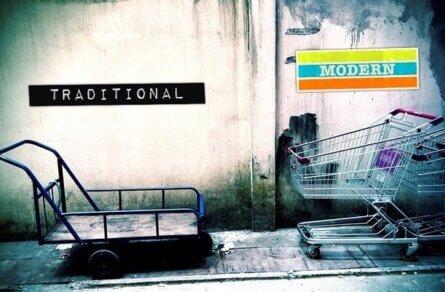 Traditional Trade vs. Modern Trade