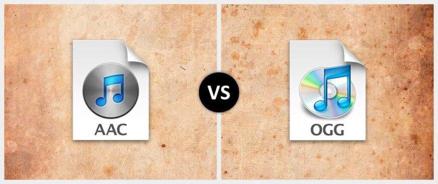 AAC Vorbis vs. Ogg Vorbis