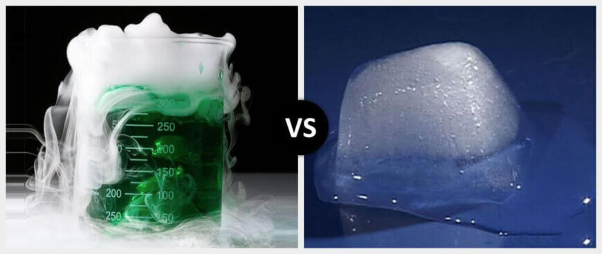 Chemical Reaction vs. Physical Reaction