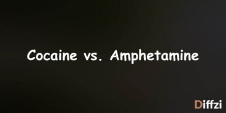 Cocaine vs. Amphetamine