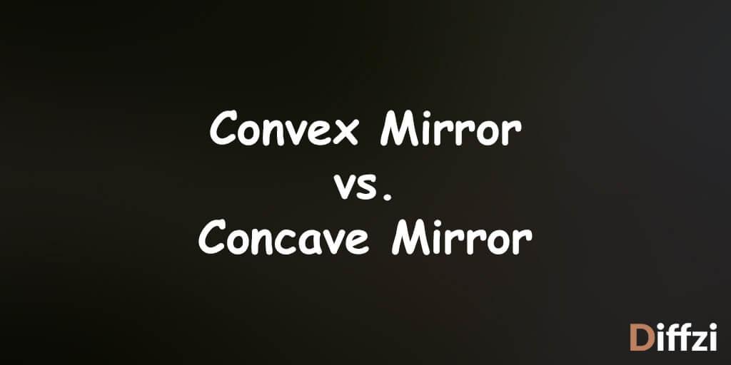 Convex Mirror vs. Concave Mirror