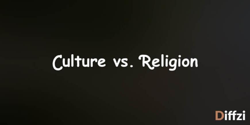 Culture vs. Religion