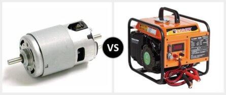 DC Motor vs. DC Generator