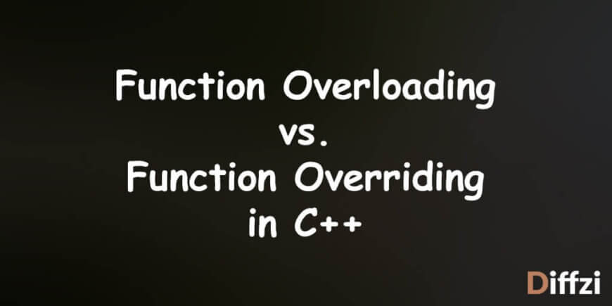 Function Overloading vs. Overriding in C