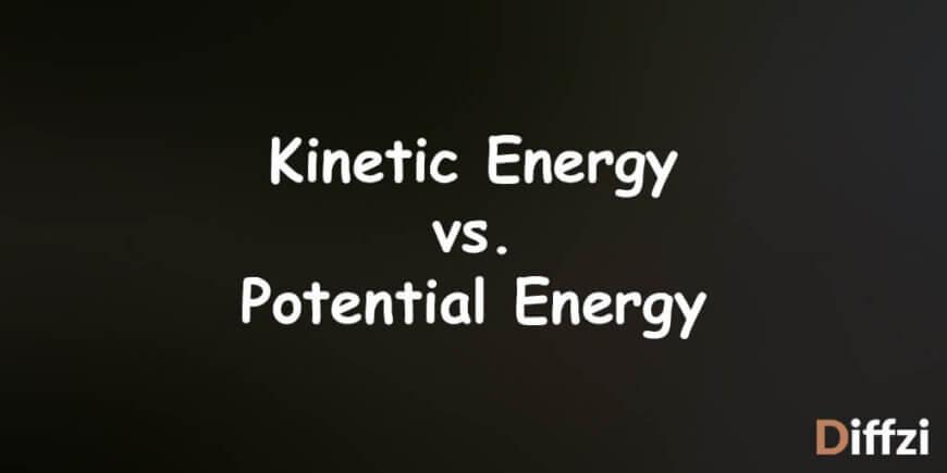 Kinetic Energy vs. Potential Energy