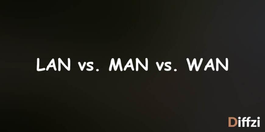 LAN vs. MAN vs. WAN