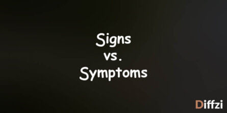 Signs vs. Symptoms