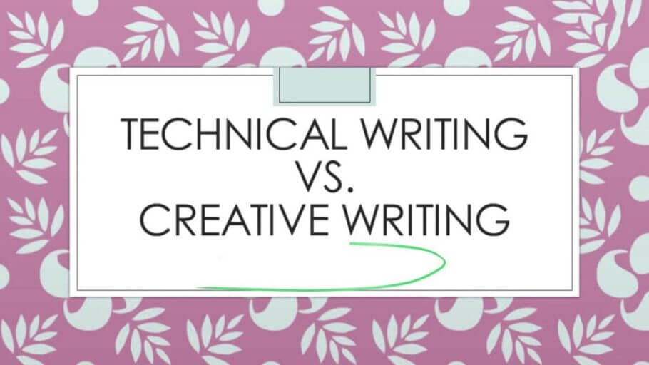 Technical Writing vs. Creative Writing
