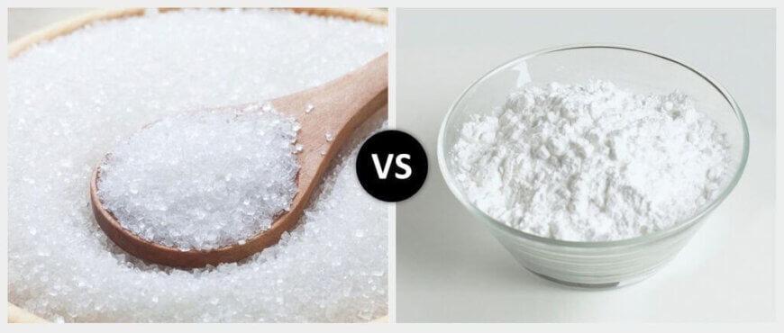 White Sugar vs. Caster Sugar
