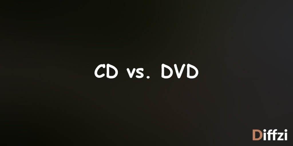 CD vs. DVD