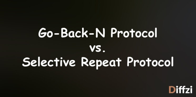 Go Back N Protocol vs. Selective Repeat Protocol