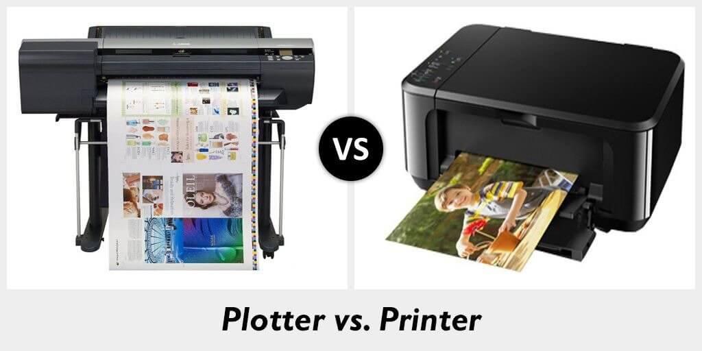 Plotter vs. Printer 1