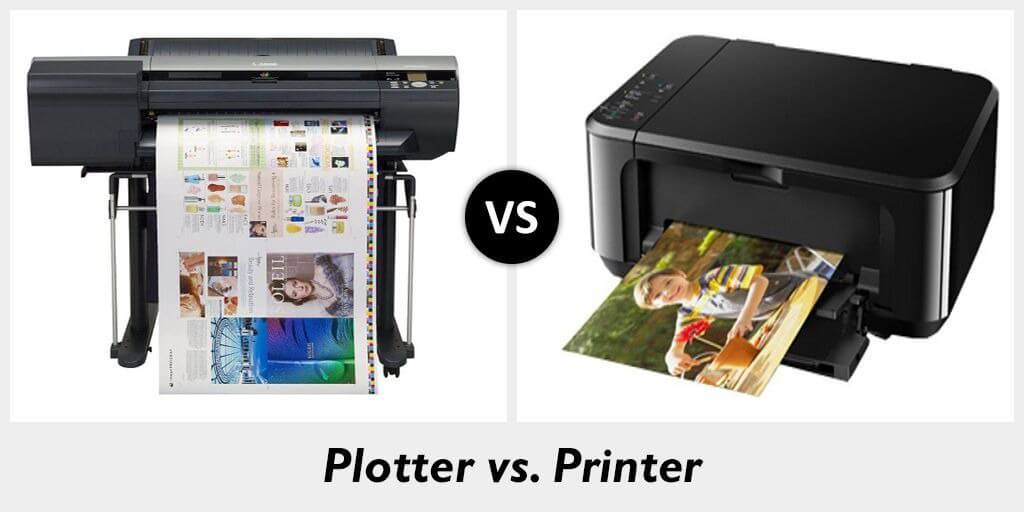 Plotter vs. Printer 1
