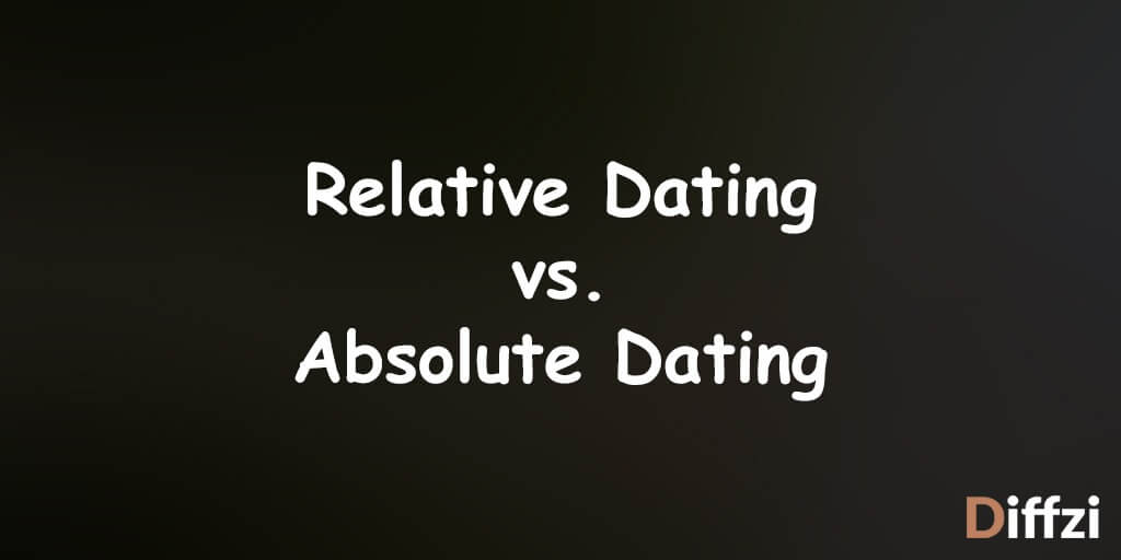 what is the difference between relative and chronometric dating methods