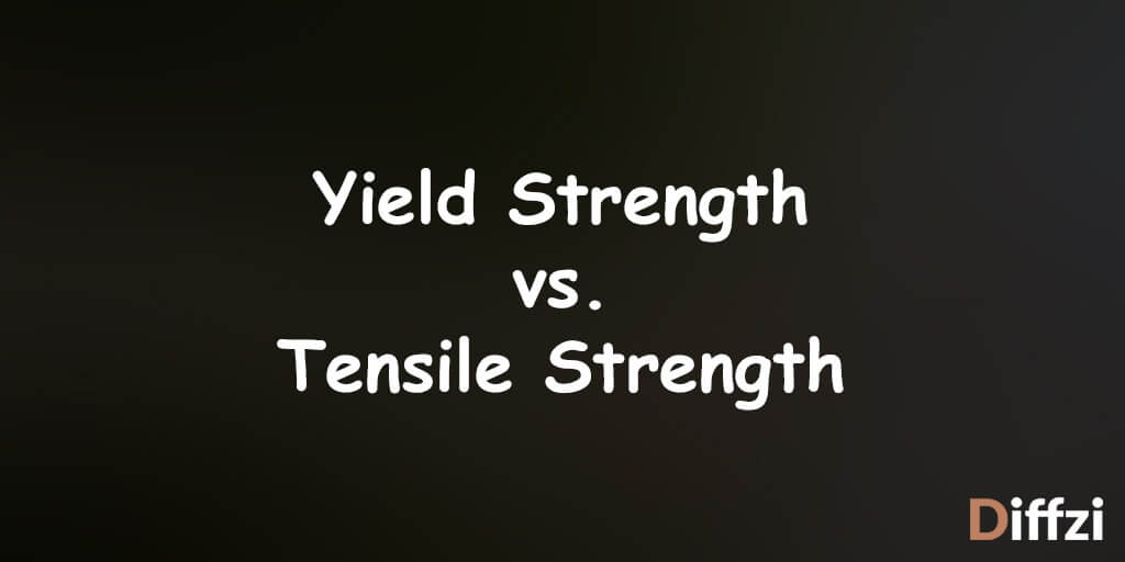 Yield Strength vs. Tensile Strength