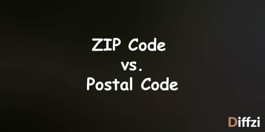ZIP Code vs. Postal Code