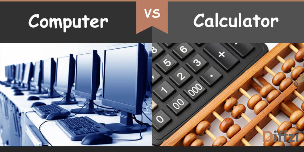 computer vs calculator