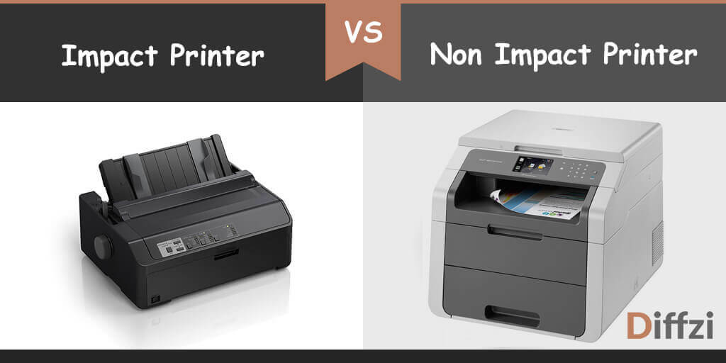 impact printer vs non impact printer