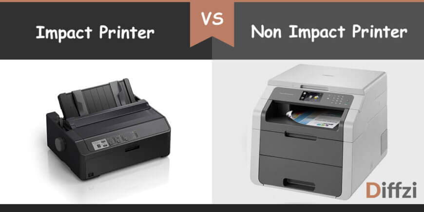 impact printer vs non impact printer