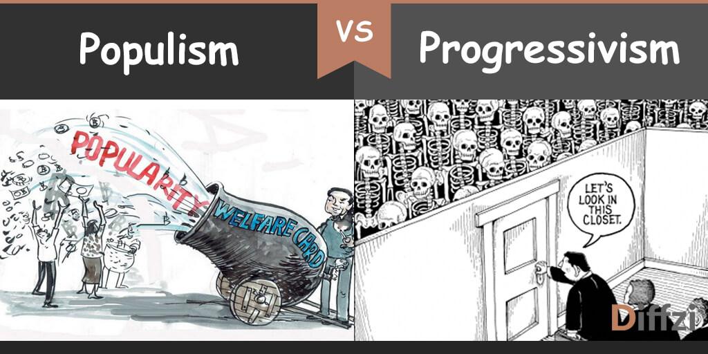 populism vs progressivism