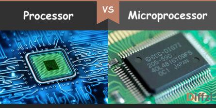 processor vs microprocessor