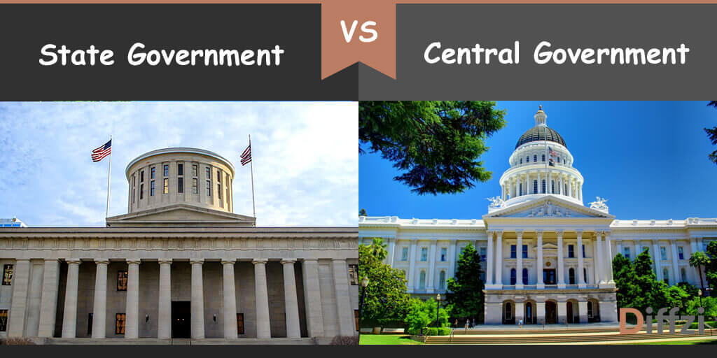 state government vs central government