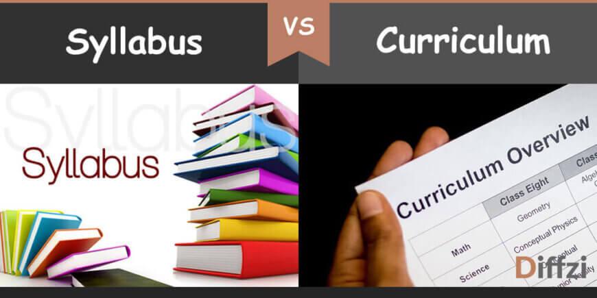 syllabus vs curriculum