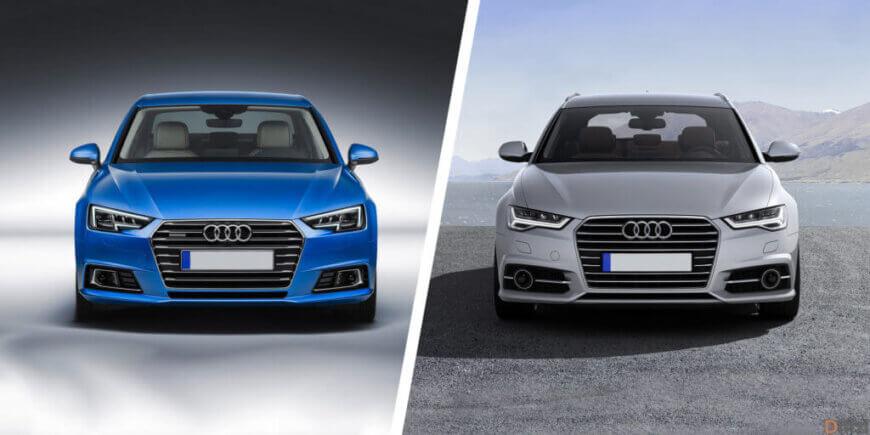 Audi A4 vs. Audi A5