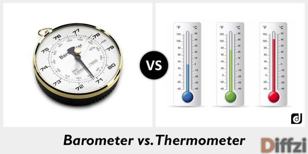 Barometer vs. Thermometer