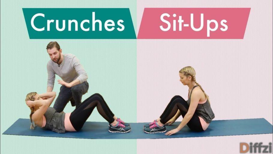 Crunches vs. Sit Ups