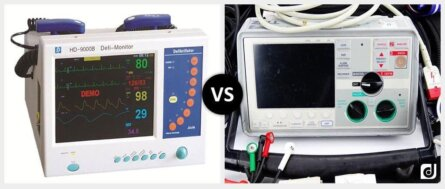 Monophasic Defibrillator vs. Biphasic Defibrillator e1550867129116