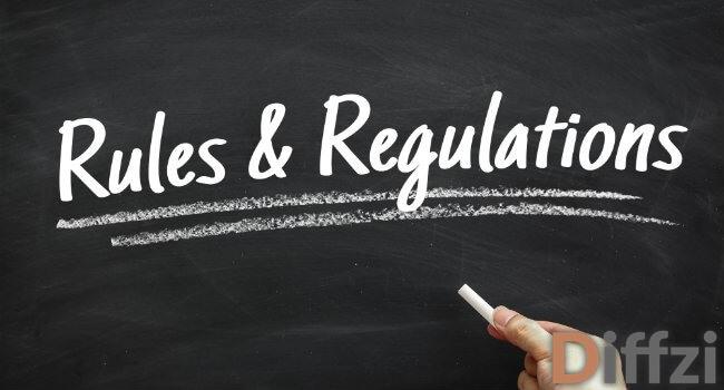 Rules vs. Regulations