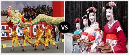 chinese culture vs japanese culture e1550867096492