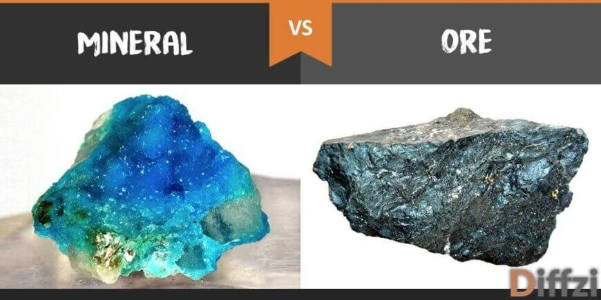 mineral vs ore