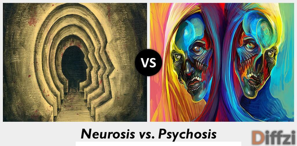 neurosis vs psychosis