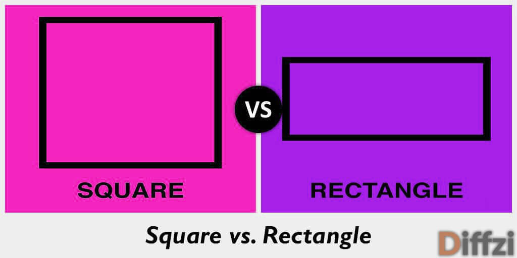 square vs rectangle