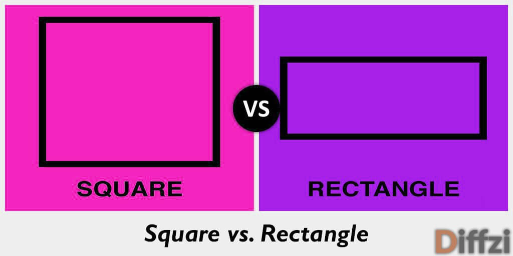 Image result for Square and Rectangle difference.wiki""