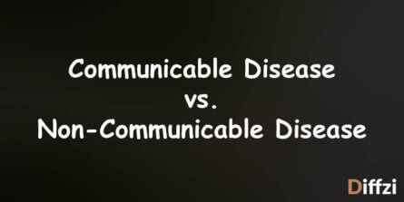 Communicable Disease vs. Non Communicable Disease