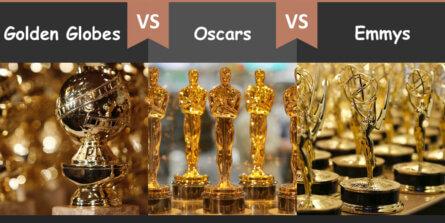 Golden Globes vs Oscars vs Emmys