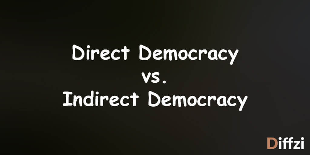 direct democracy vs  indirect democracy  u2013 difference and