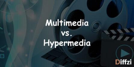 Multimedia vs. Hypermedia