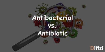 Antibacterial vs. Antibiotic
