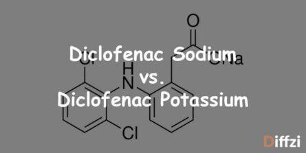 Diclofenac Sodium vs. Diclofenac Potassium