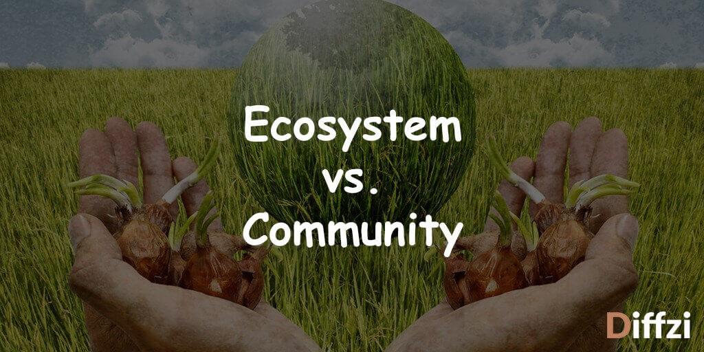 Ecosystem vs. Community