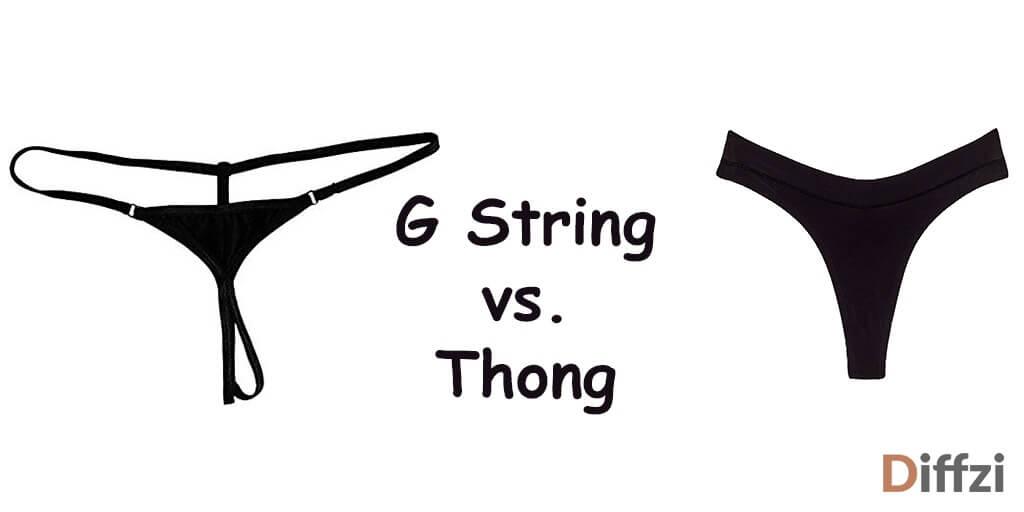 G String vs. Thong