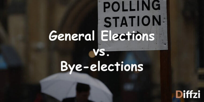 General Elections vs. Bye elections