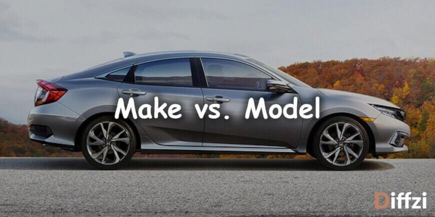 Make vs. Model