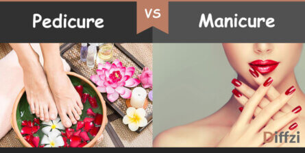 pedicure vs manicure