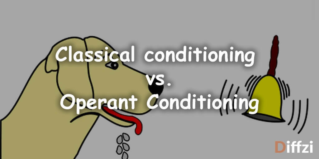 Classical conditioning vs. Operant Conditioning